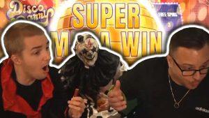 HUGE large WIN on DISCO DANNY – casino bonus Slots large Wins