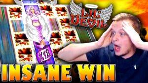 HUGE large WIN on Lil Devil Slot!