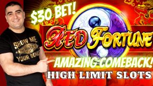 High boundary KONAMI Slot Machines ! large WIN On cherry Fortune Slot Machine | Live Slot Play | SE-6| EP-24