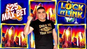 High boundary LOCK IT LINK Slot Machine $25 Max Bet Bonus | Slot Wins | Live Slot Play At casino bonus