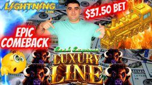 High boundary Lightning Link Slot large WIN & Epic come upwards dorsum | novel LUXURY Line Slot $25 Max Bet Bonus
