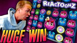 Huge Win on Reactoonz over again! (No Garga)