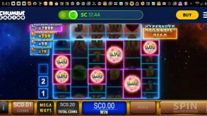 Hypernova Mega Ways Chumba casino bonus large win!