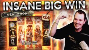 Insane Mega large Win DeadWood No boundary Slot