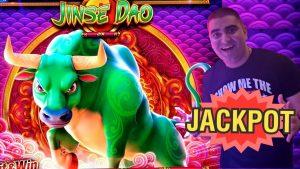 Jinse Dao Ox Slot Machine HANDPAY JACKPOT – $25 Max Bet | Live Slot Play At casino bonus | SE-6 | EP-26