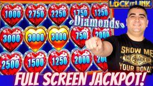 Lock It Link Slot Machine total cover HANDPAY JACKPOT | Maksimalni ulog u automatima za automate | Igranje automata uživo