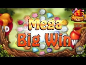MEGA large WIN BEI HONEY RUSH (PLAY'N GO) – 3€ EINSATZ!