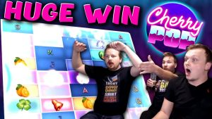 MEGA large Win on Cherry Pop