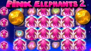MY BIGGEST Thunderkick WIN / pinkish Elephants 2 large wins & liberate spins compilation! #3 (+ bonus information)