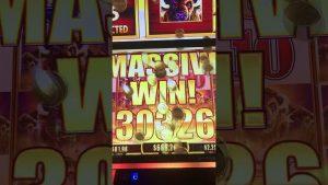 בונוס קזינו Massive Win! חייבת להתייחס. מכונת מזל מזל. מכונת Win.Buffalo גדולה Win.