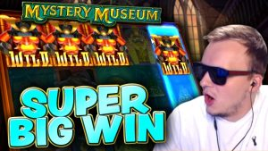 Mystery Museum with the DREAM LINE large Win!