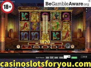 Online casino bonus Slots, Legacy of Dead large Win Bonus