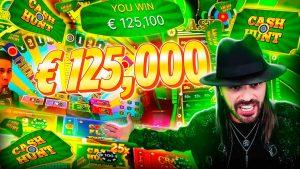 ROSHTEIN Mega Win 125.000€ on Crazy Time – TOP 5 Mega wins of the calendar week