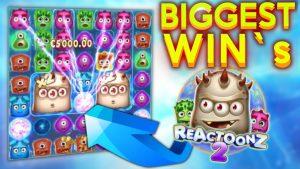 Reactoonz 2 Biggest Wins WorldWide large Win casino bonus
