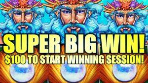 סופר גדול WIN RUN !! 🔱 רומן! ה- REALM של NEPTUNE (קישור כסף) (כלפי מעלה ל- $ 7.50 הימורים) מכונת מזל (SG)