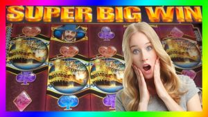 **SUPER large WINS!** Pirate Ship/Rex of Africa/Mystical Unicorn/WMS Slot Machine Bonus