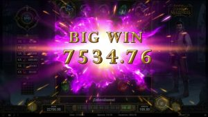 Slot casino bonus – Tome of madness –  large win 9860 €