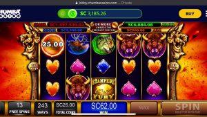 Stampede Fury $25 bet large win| Chumba casino bonus