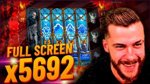 Streamer Super win x5692 on Warrior Graveyard – Top 5 large wins inwards casino bonus slot