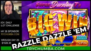 Super Dazzling 7s large Win | Bank It or Bust on CHUMBA casino bonus – I Play Slots Challenge intend solar daytime 28