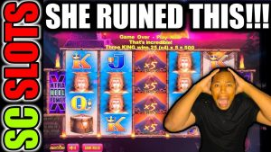 This Lady Absolutely Ruined This Huge Win For Me At The casino bonus…