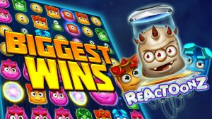 Top 5 Slot Wins on Reactoonz