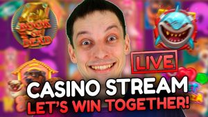 allow'S WIN TOGETHER! LIVE casino bonus flow – SLOTS large WINS with mrBigSpin