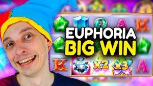 large WIN EUPHORIA SLOT!