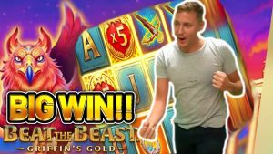 large WIN!!! GRIFFINS atomic number 79 large WIN – €10 bet on novel SLOT from Thunderkick
