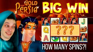large WIN MERKUR SLOT – Au OF PERSIA! HOW MANY unloosen SPINS?!