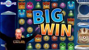 large WIN!!! Reactoonz Crazy Win – casino bonus Games from MrGambleSlots Live flow