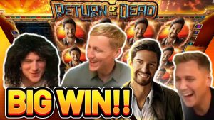 large WIN!!! homecoming OF THE DEAD large WIN – €5 bet on casino bonus slot from CasinoDaddys current