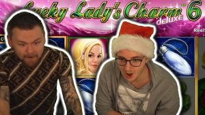 large WIN on LUCKY LADY'S CHARM 6 – Novomatic large Wins