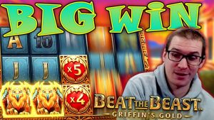 큰 승리 The Beast : Griffin의 Au 슬롯 – £ 10 베팅!
