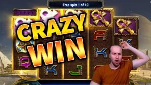 velika zmaga! Ankh of Anubis Crazy Win - casino bonus igre od MrGambleSlots Live trenutno