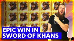 large Win inwards Sword of Khans together with sugariness Bonanza Slots! casino bonus Highlights with Slot Rider