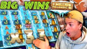 large Wins on 1 1000000 Megaways BC!