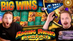 large Wins on Raging rhinoceros Rampage