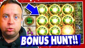 £1.00 Stake Bonus Hunt on Online Slots (large win?)