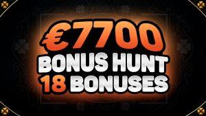 €7700 BONUS HUNT RESULTS 🎰 18 ONLINE casino bonus SLOT MACHINE FEATURES   ft. FROZEN GEMS & SPARTAN virile individual monarch