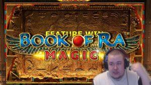 ONLINE casino bonus SLOT MACHINES large Win volume Of Ra, Reactoonz, Buffalo Rising Slot Wolf 2021 novel
