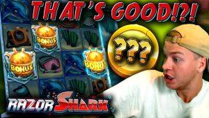 ONLINE casino bonus SLOT MACHINES large Win volume Of Dead, Hotline, Mystery Museum Razor Shark Merkur Spiele