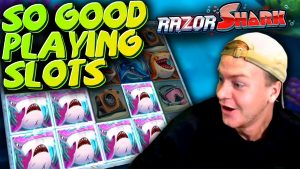2 large Wins on Razor Shark!