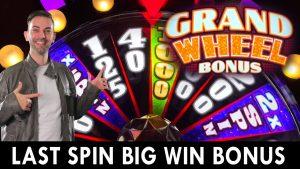 $45/SPIN lastly Spin large WIN BONUS on GRAND WHEEL at Live! casino bonus Pittsburgh #advert