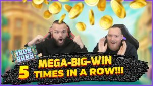 5 MEGA-large-WINS on Fe Bank Slot inwards less too so 2 hours!!!