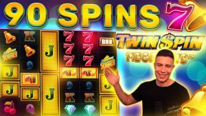 90 CRAZY loose SPINS ON TWIN SPIN MEGAWAYS BONUS 🎰 large WIN ON NETENT ONLINE SLOT MACHINE