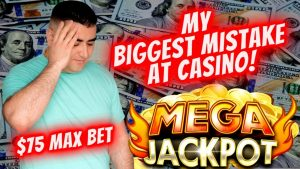 BIGGEST fault inward My Life On Slot Machines ►Huge HANDPAY JACKPOT◄ On 3 Reel Slot $75 MAX BET |EP-12