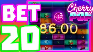 CHERRY POP SLOT🍒- INSANE large WIN😱BONUS BUYS OMG WE GOT IT ON A €20 BET🔥THIS tin can live SO EPIC‼️