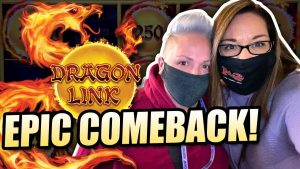 EPIC COMEBACK on DRAGON LINK ! large WIN too permit THE BATTLE BEGIN !!