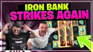 Fe BANK HUGE WIN over again! INSANE WIN ON RELAX GAMING SLOT